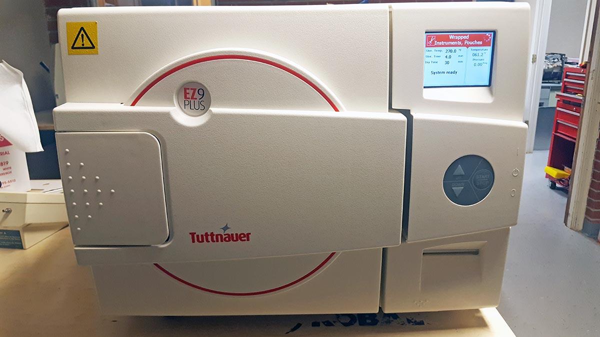 Tuttnauer EZ9 Plus Sterilizer